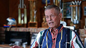 Still image of Bobby Unser interview.