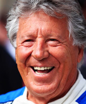 Picture of Mario Andretti in the Rapid Response movie
